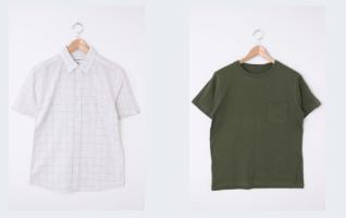 シャツのコーディネート
